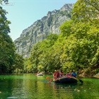 Rafting and Canoe in Pineios river in Tempe, Thessaly!