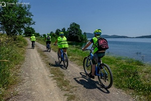 E-bike near the Plastira Lake in Thessaly!