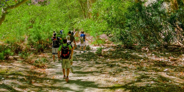 Guided Hiking In West Crete