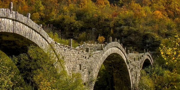 Hiking tour at the Zagori Villages of Ioannina region, Greece