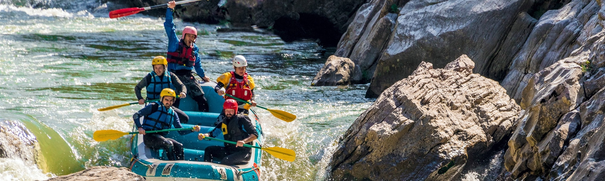 Rafting In Lousios and Alfios Rivers, Peloponesse, Greece