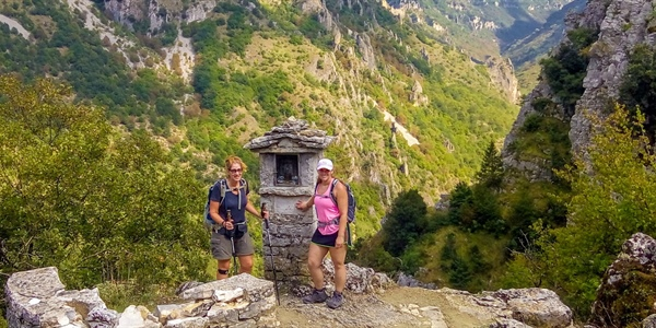 Hiking / Trekking the Highlights of Zagori villages at Ioannina, Greece