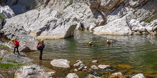 Canyoning in Portitsa, Grevena