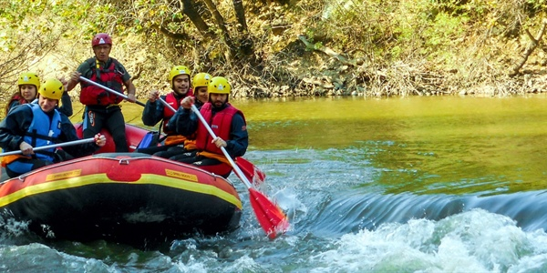 Rafting and Archery in Pineios at the Valley of Tempe, Thessaly