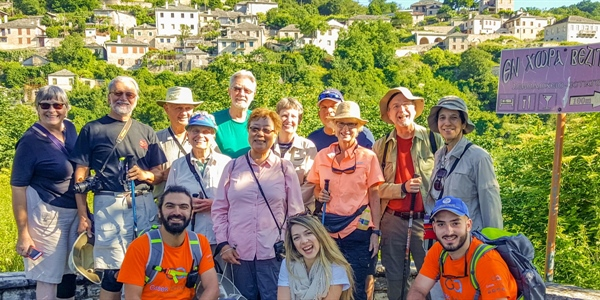 Experience our 3-day hiking / trekking adventure in Zagori, Ioannina, Greece