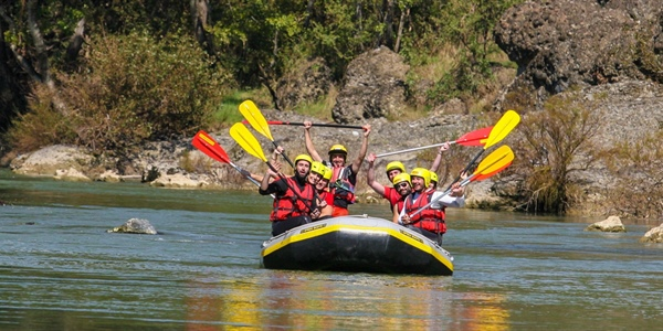 Rafting in Aliakmonas River, Grevena, Greece